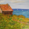 After Monet - Fisherman's Cottage