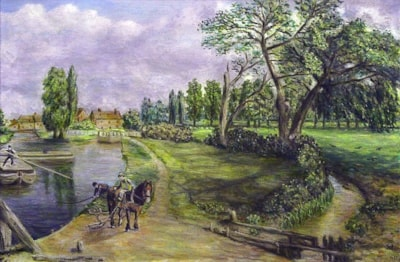 Flatford Mill - A Tribute to John Constable