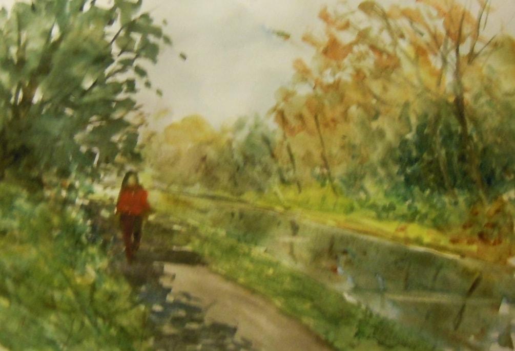 Autumn reflections, Daisy Nook.