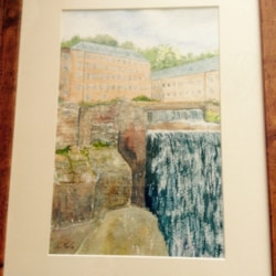 Cromford mill Derbyshire