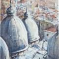 St Mark's domes, Venice, Italy