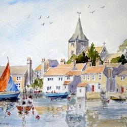 Boating at Bosham