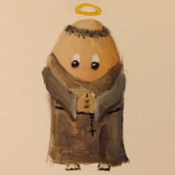 Doodles for a friend 2 - Eggs Benedict