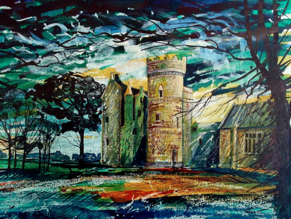 Penkhill Castle, South Ayreshire.