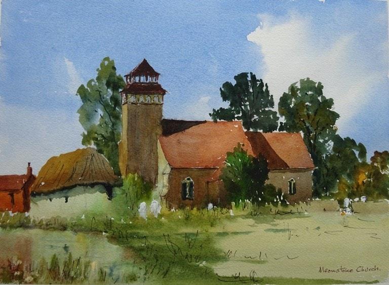 Meonstoke Church Hampshire