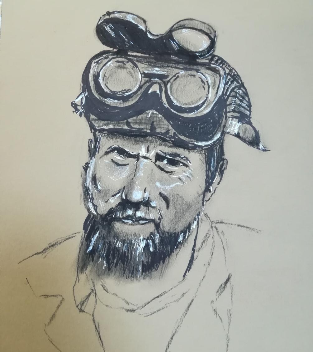 Paul, canal boat restorer