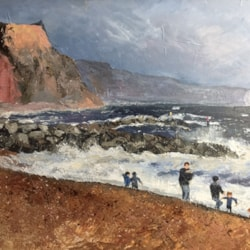 Stormy afternoon at Sidmouth