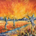 Fenland willows. No. 1 for Van Gogh competition.
