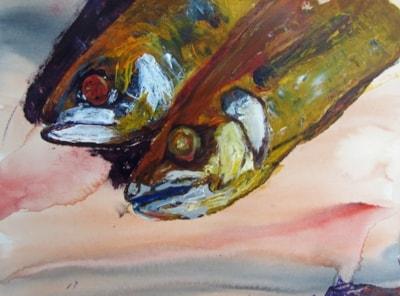 Mackerel on a Slab