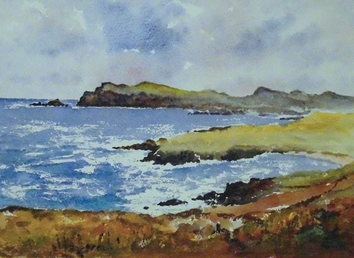 On Ireland's west coast
