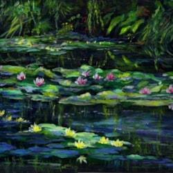 Impression of Monet's Garden.
