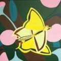 Cubist Butterfly