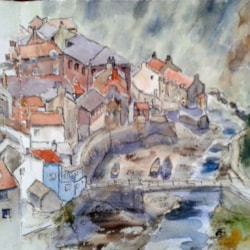 Staithes sketchbook