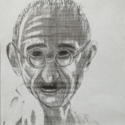 Grandson Eoin's Art Homework