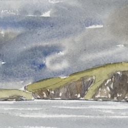 2 of 2 , dark day , Lamb Hoga , Fetlar , Shetland