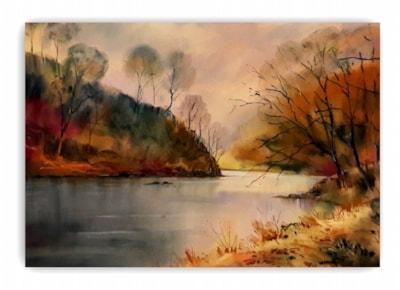 River Wear below Finchale Abbey