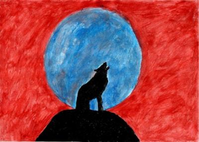 Fantasy - howling at the moon