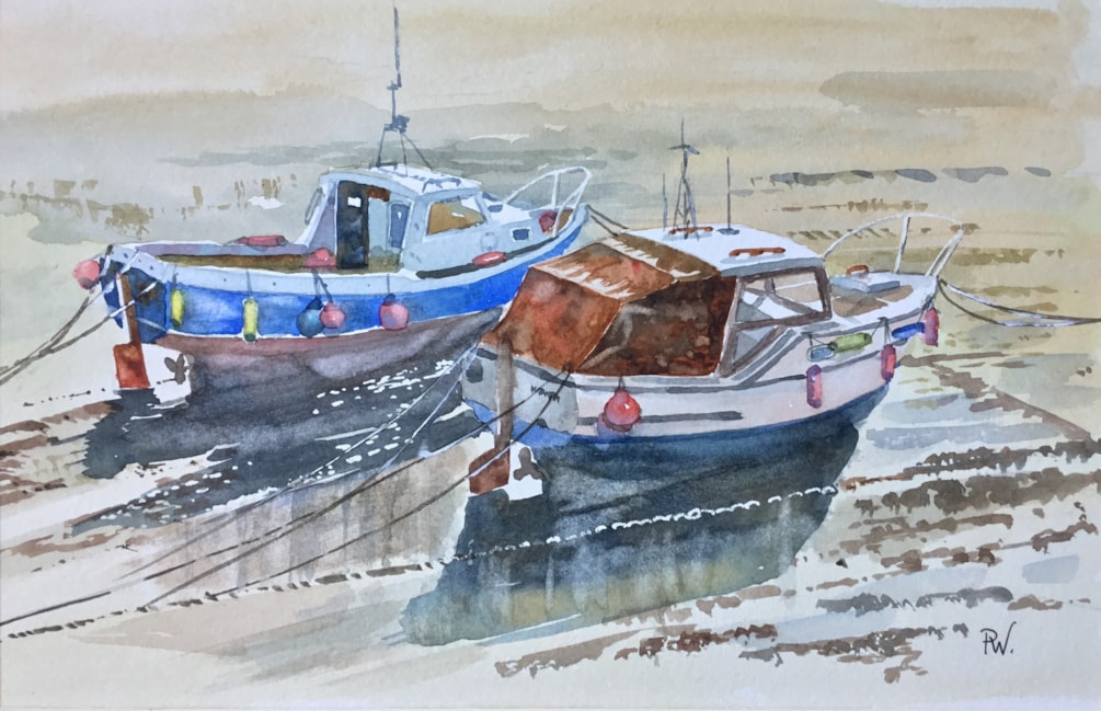 Cemaes Bay Fishing Boats (2)