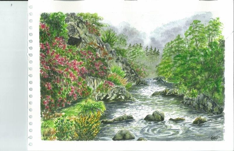 river Glaslyn north wales