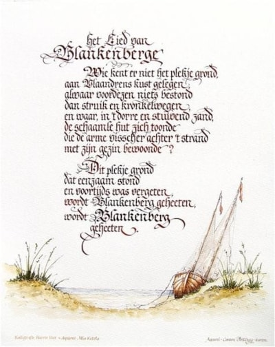 The song of Blankenberge