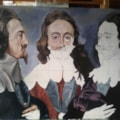 Charles I in 3 positions