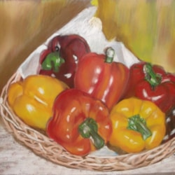 A Basket of Peppers
