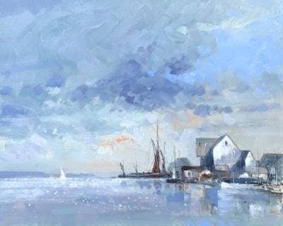 barges buildings