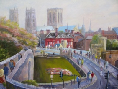 York from the city walls