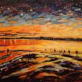 Midwinter sunset  at Wellington Point - Queensland