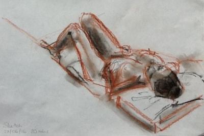 Twenty-minute sketch