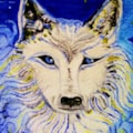 Wily Old Fantasy Wolf