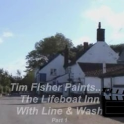 Painting the lifeboat inn ~ Part 1