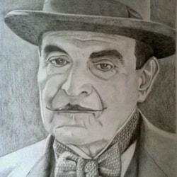 David Suchet asHercule Poirot