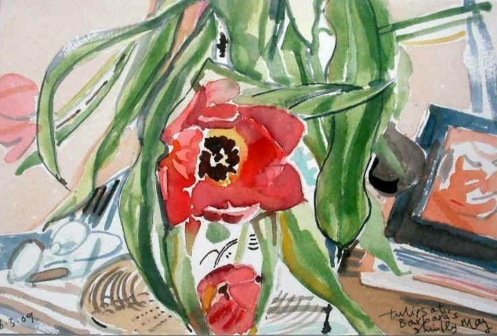 Tulips at Barbara's