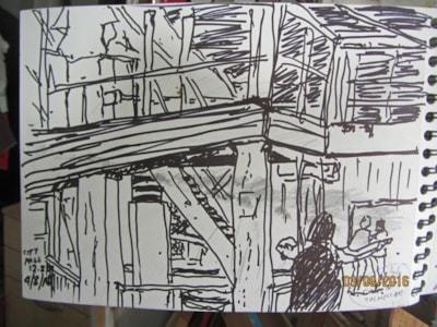 Urban Sketching again