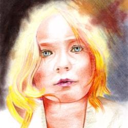 Portrait in colours 1
