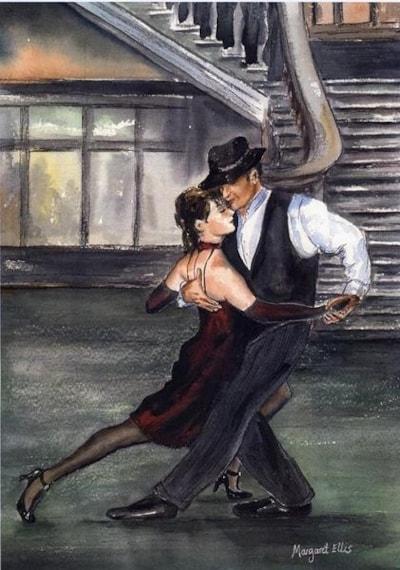 Tango in Argentina.