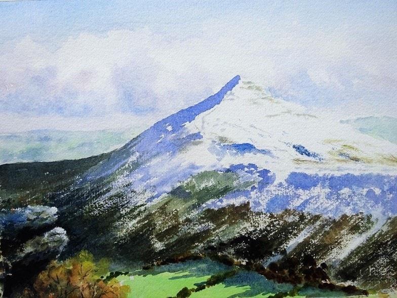 Sugar Loaf Black Mountains Wales