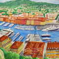 The Port Of Nice  (detail)