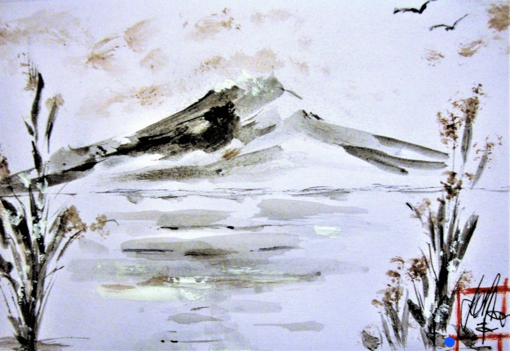 Winter Fuji....