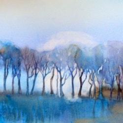 blue wood nhs turn the gallery blue