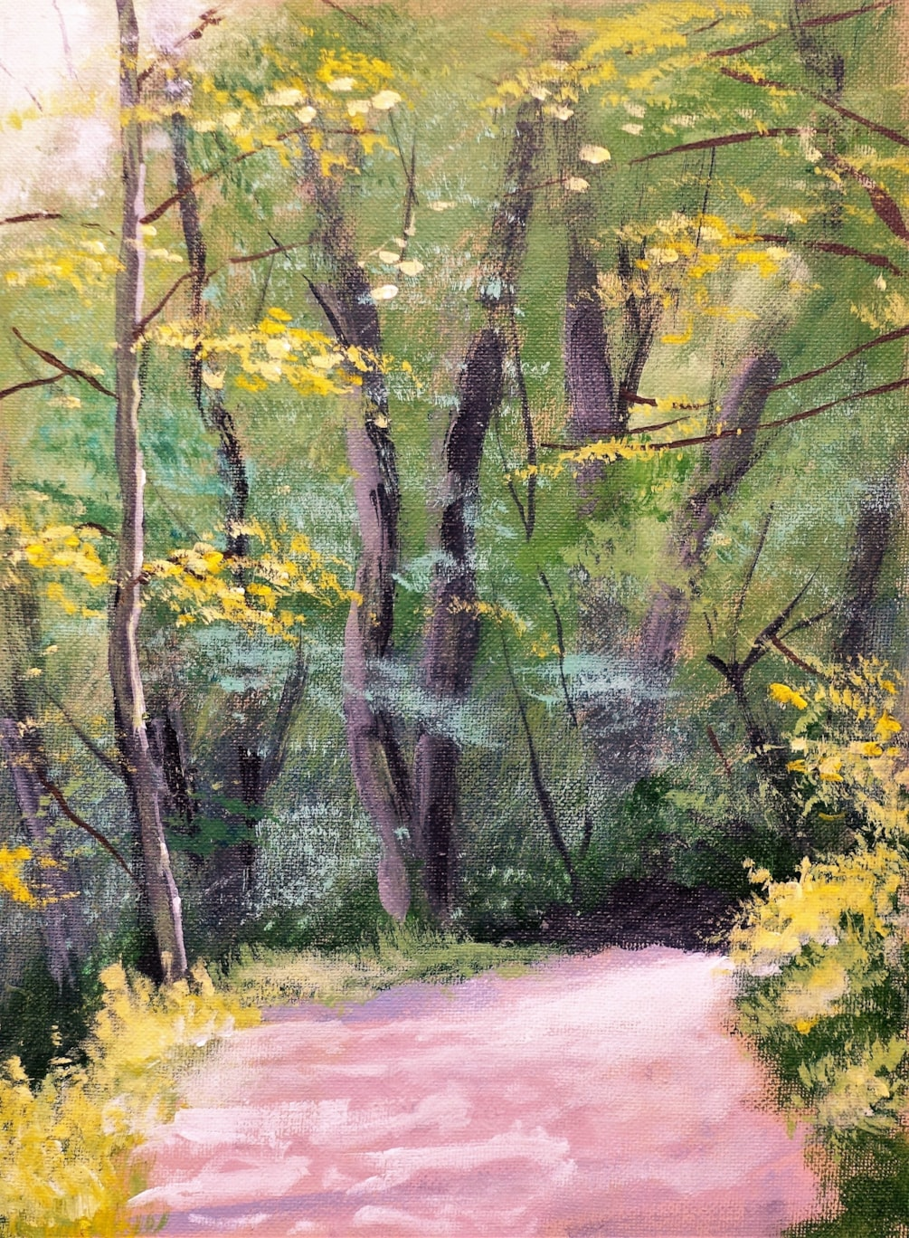 Path through wood