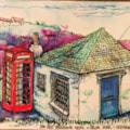 Telephone kiosk in Gerrens, Cornwall