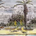Playa Blanca sketch 2
