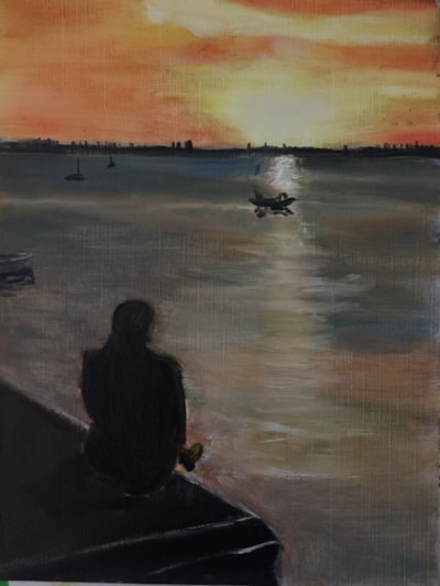 Mudeford sunset.