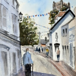 Sidmouth Street Scene - Steve Hall Workshop - Day 3