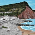 Sidmouth from Connaught Gardens