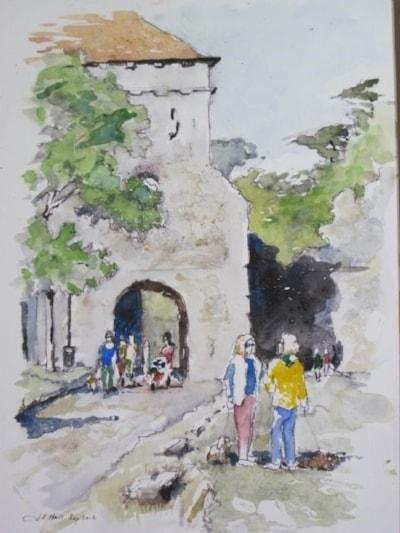 Through the Land gate 2