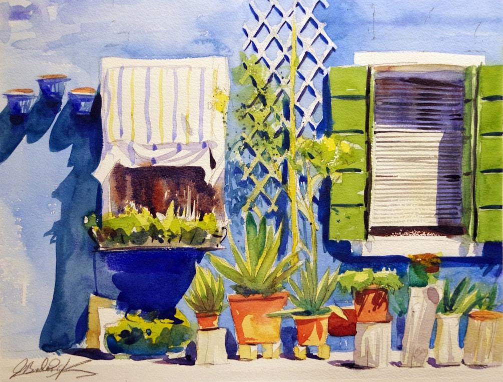 Burano Blue House
