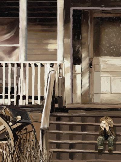 Sepia Memory: Sittin' On Pop's Porch